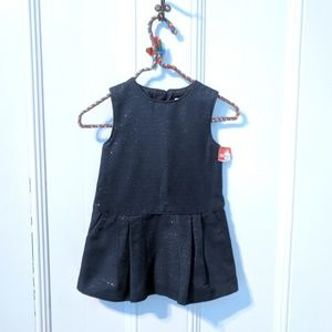 NWOT Chloé Designer Baby Sparkle Jumper Dress 9m